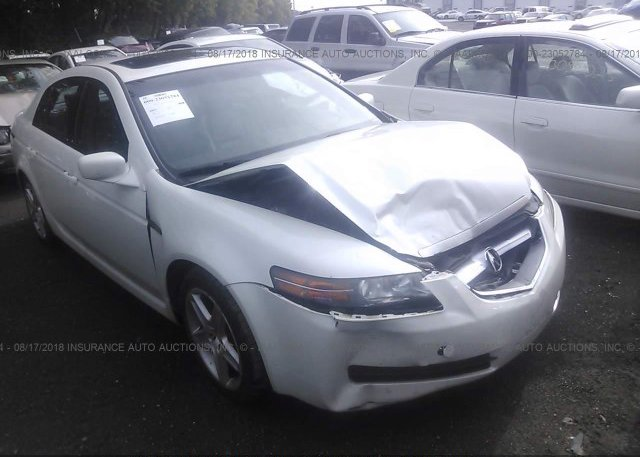19uua66235a038478 Salvage White Acura Tl At Indianapolis In On