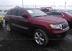 2012 JEEP GRAND CHEROKEE - 1C4RJEAG6CC206441 Left View