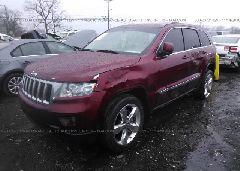 2012 JEEP GRAND CHEROKEE - 1C4RJEAG6CC206441 Right View