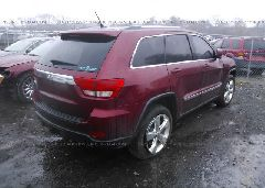 2012 JEEP GRAND CHEROKEE - 1C4RJEAG6CC206441 rear view