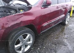 2012 JEEP GRAND CHEROKEE - 1C4RJEAG6CC206441 detail view