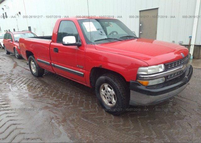 Inventory #452968490 2002 Chevrolet SILVERADO