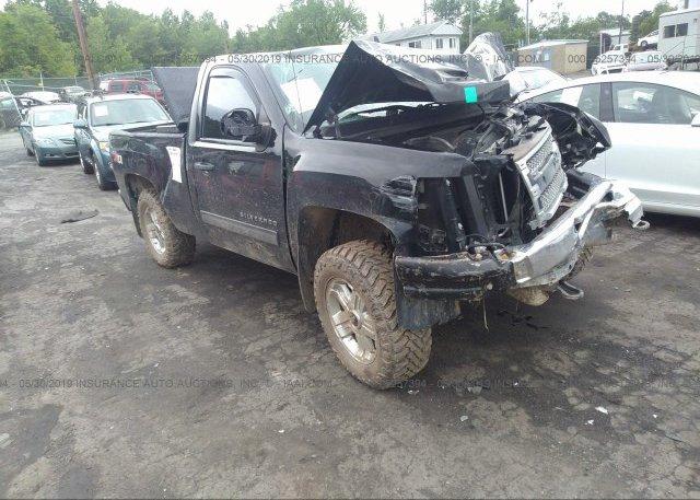 Inventory #754756308 2012 Chevrolet SILVERADO