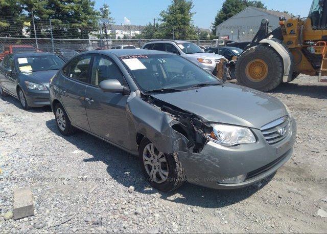 Inventory #782449193 2010 Hyundai ELANTRA