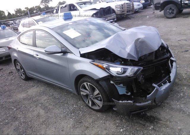 Inventory #970182211 2015 Hyundai ELANTRA