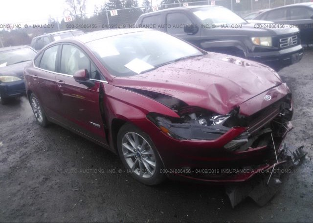 Inventory #716379710 2017 FORD FUSION