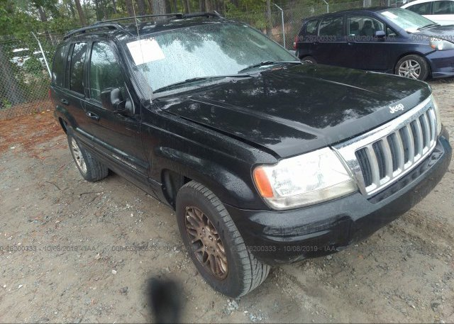 Inventory #731141524 2004 JEEP GRAND CHEROKEE