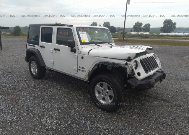Inventory #271243012 2017 JEEP WRANGLER UNLIMITE