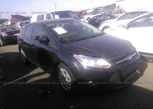 Inventory #240425500 2012 FORD FOCUS