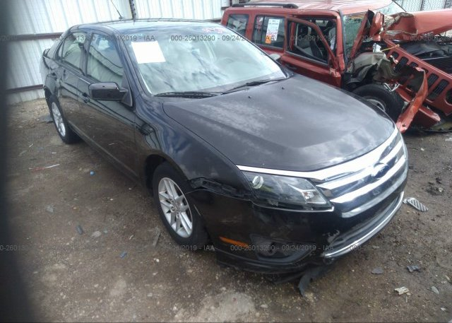 Inventory #536789022 2010 FORD FUSION