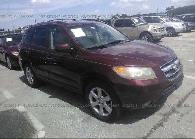 Inventory #433373456 2007 Hyundai SANTA FE