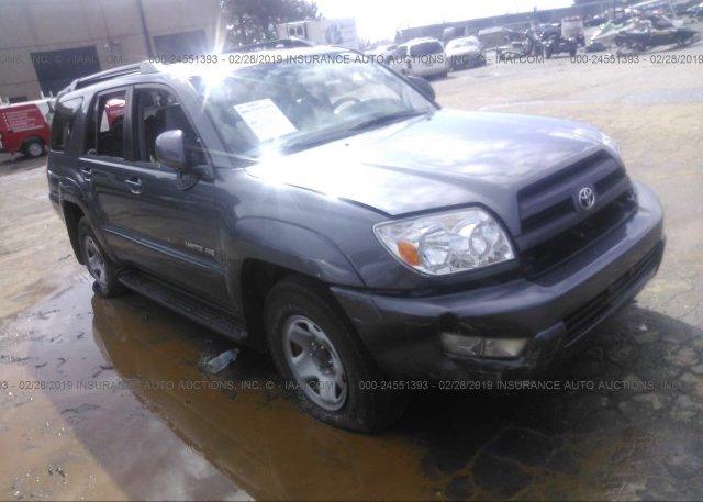 Inventory #612094399 2005 Toyota 4RUNNER