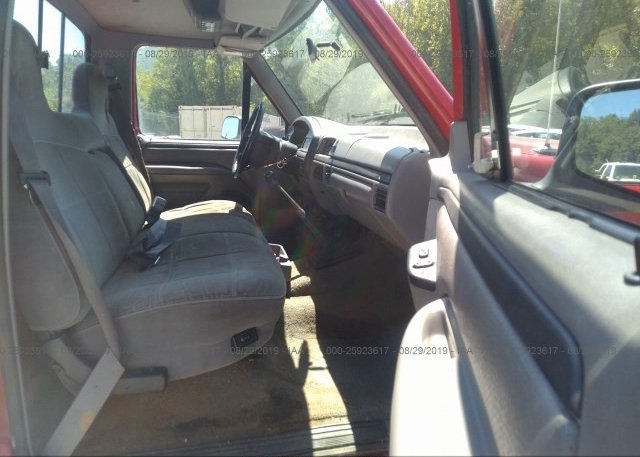 Surprising 1Ftef14Y7Tlb79859 Clear Red Ford F150 At Pulaski Va On Machost Co Dining Chair Design Ideas Machostcouk