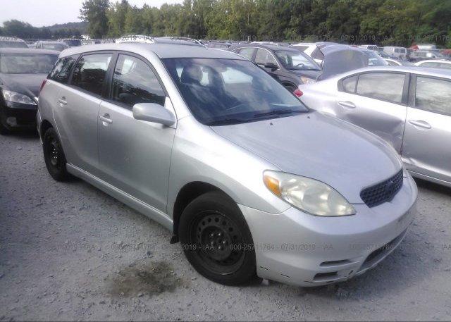 Inventory #832396936 2003 Toyota COROLLA MATRIX