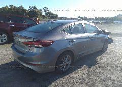2017 Hyundai ELANTRA - KMHD84LF5HU327883 rear view