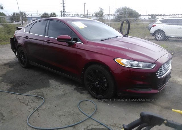 Inventory #891937055 2013 FORD FUSION