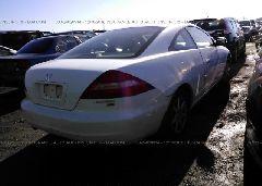 2003 HONDA ACCORD - 1HGCM82633A023774 rear view
