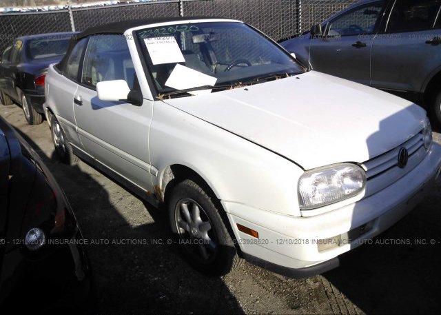 Inventory #569122614 1998 Volkswagen CABRIO