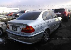 2004 BMW 325 - WBAET37404NJ81467 rear view