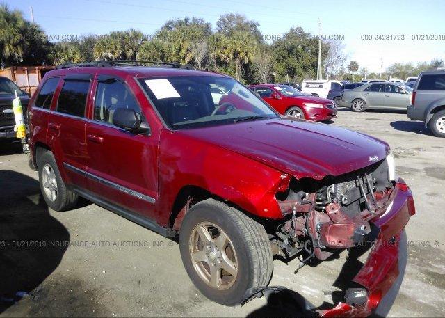 Inventory #593452100 2005 JEEP GRAND CHEROKEE
