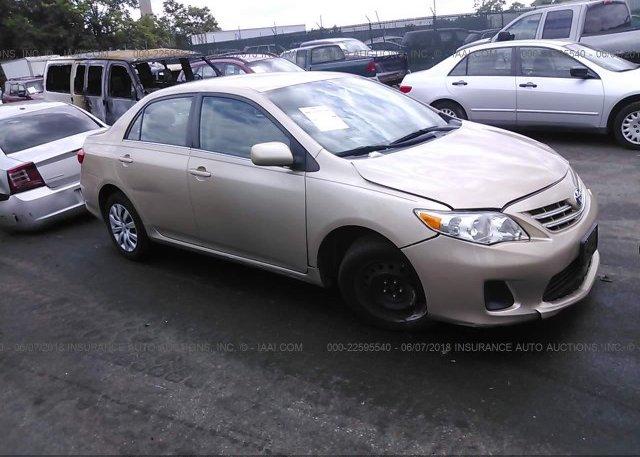 Inventory #464027108 2013 Toyota COROLLA