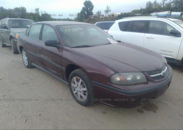 Inventory #518491198 2003 Chevrolet IMPALA