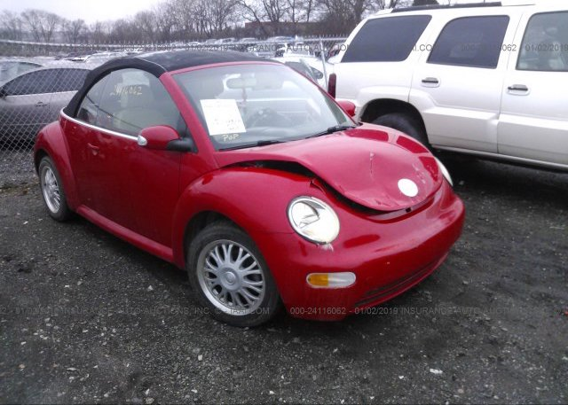 Inventory #635272676 2005 VOLKSWAGEN NEW BEETLE