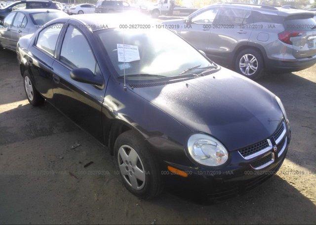 Inventory #234675877 2005 Dodge NEON