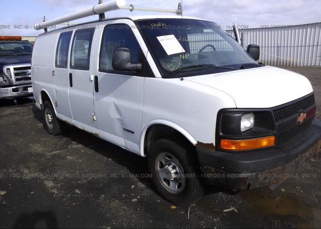 Inventory #449180221 2005 Chevrolet EXPRESS G2500