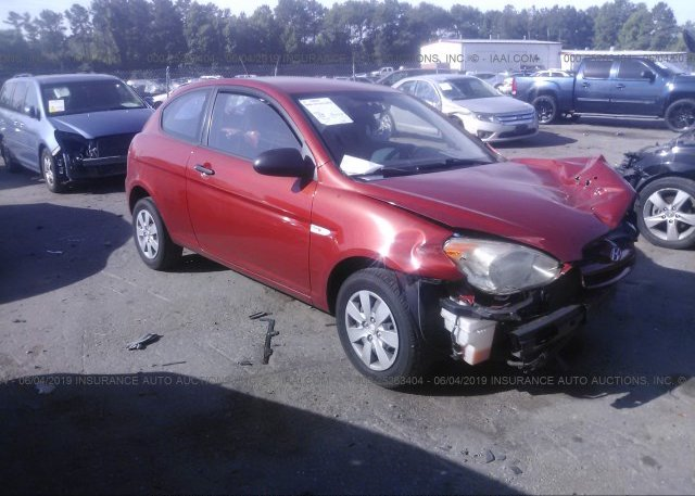 Inventory #900134161 2008 Hyundai ACCENT