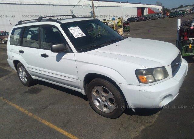 Inventory #728877910 2003 Subaru FORESTER
