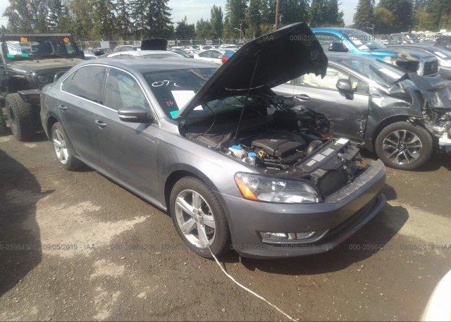 Inventory #494341675 2015 Volkswagen PASSAT
