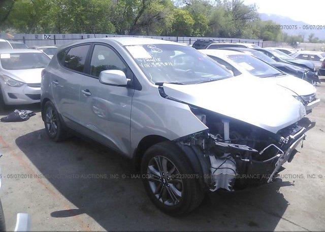 Inventory #854864681 2015 Hyundai TUCSON