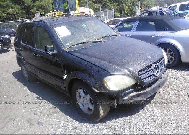 Inventory #423837835 1999 Mercedes-benz ML
