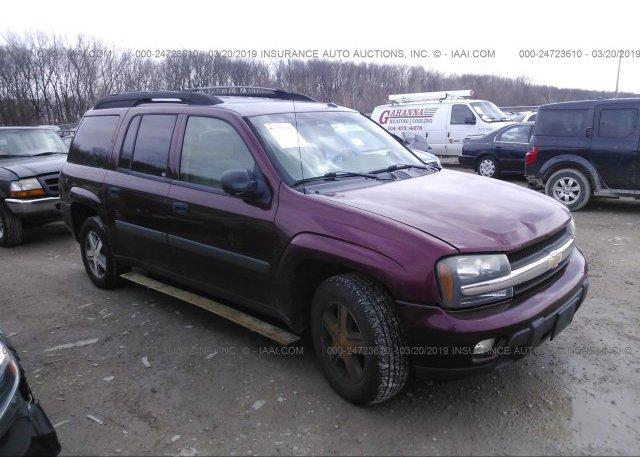 Inventory #849477365 2005 Chevrolet TRAILBLAZER