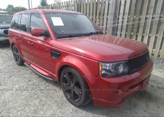 Inventory #757450400 2012 Land Rover RANGE ROVER SPORT