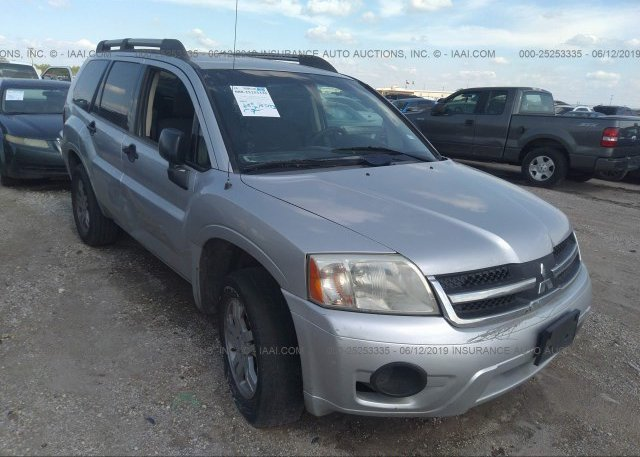 2007 Mitsubishi Endeavor >> 4a4mm21s87e052466 Original Silver Mitsubishi Endeavor At