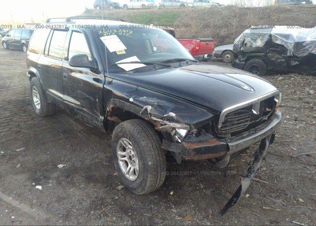 Inventory #882295202 2003 Dodge DURANGO