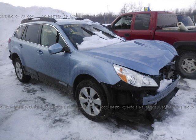 Inventory #738180021 2010 Subaru OUTBACK