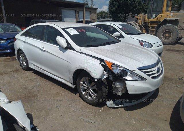 Inventory #522230527 2014 Hyundai SONATA