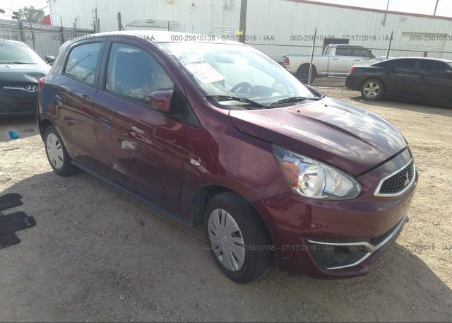 Inventory #891945097 2018 Mitsubishi MIRAGE