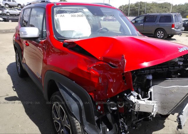 Inventory #113134000 2018 JEEP RENEGADE