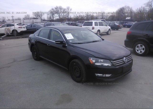 Inventory #604131609 2013 Volkswagen PASSAT