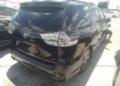 2012 Toyota SIENNA - 5TDXK3DC3CS200242 rear view