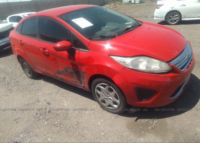 Inventory #731967365 2012 FORD FIESTA
