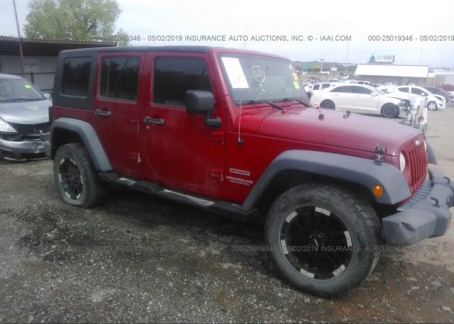 Inventory #875139368 2010 JEEP WRANGLER UNLIMITE