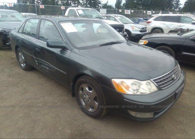 Inventory #861970489 2003 Toyota AVALON
