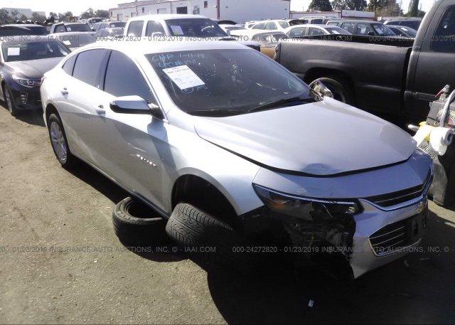 Inventory #865699435 2016 Chevrolet MALIBU