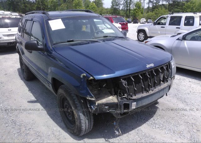 Inventory #290552786 2002 JEEP GRAND CHEROKEE