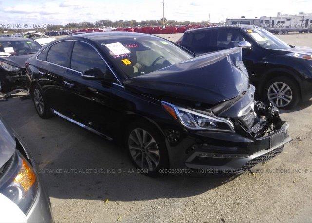 Inventory #636239186 2017 Hyundai SONATA